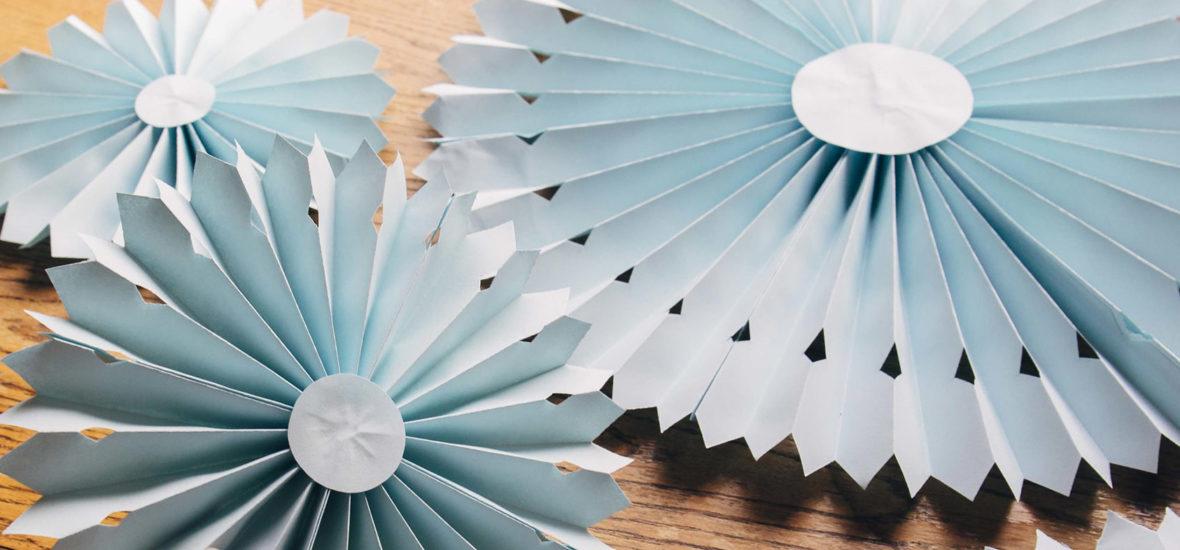 DIY: Helpot paperikoristeet juhliin