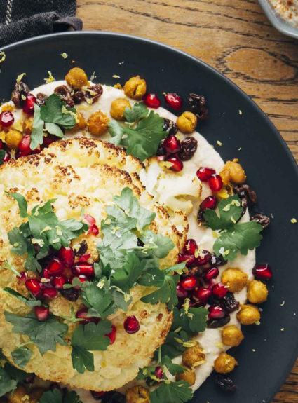 Kokonainen paahdettu kukkakaali – Ruokaa ilmaston puolesta